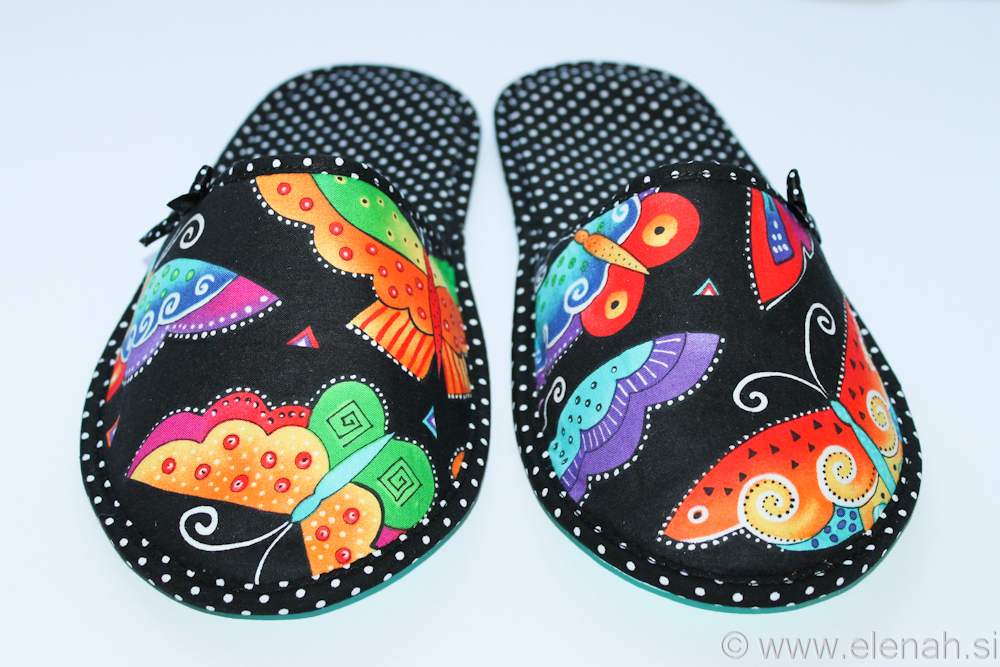 Copatki pike metulji Slippers dots butterflies  2c