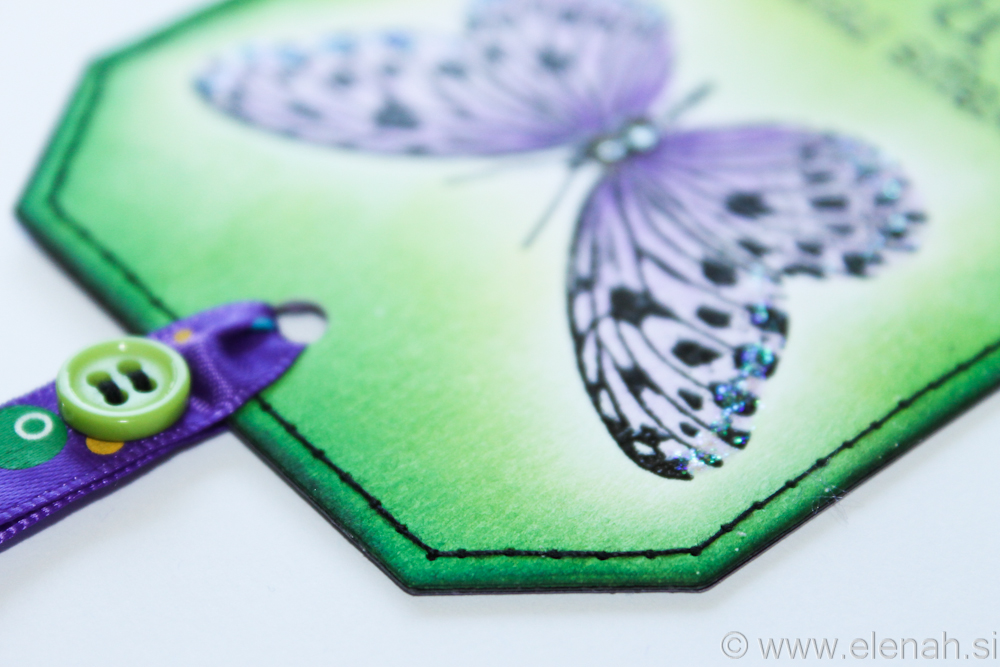 Day 111 butterfly bookmark with stiches 5