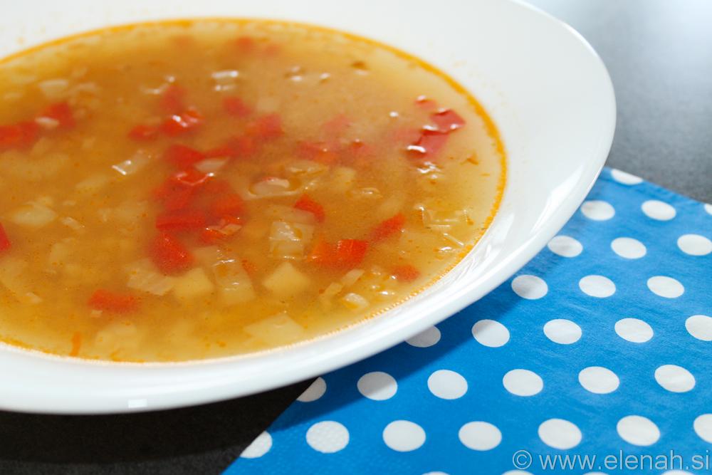 Day 118 lečina juha s papriko