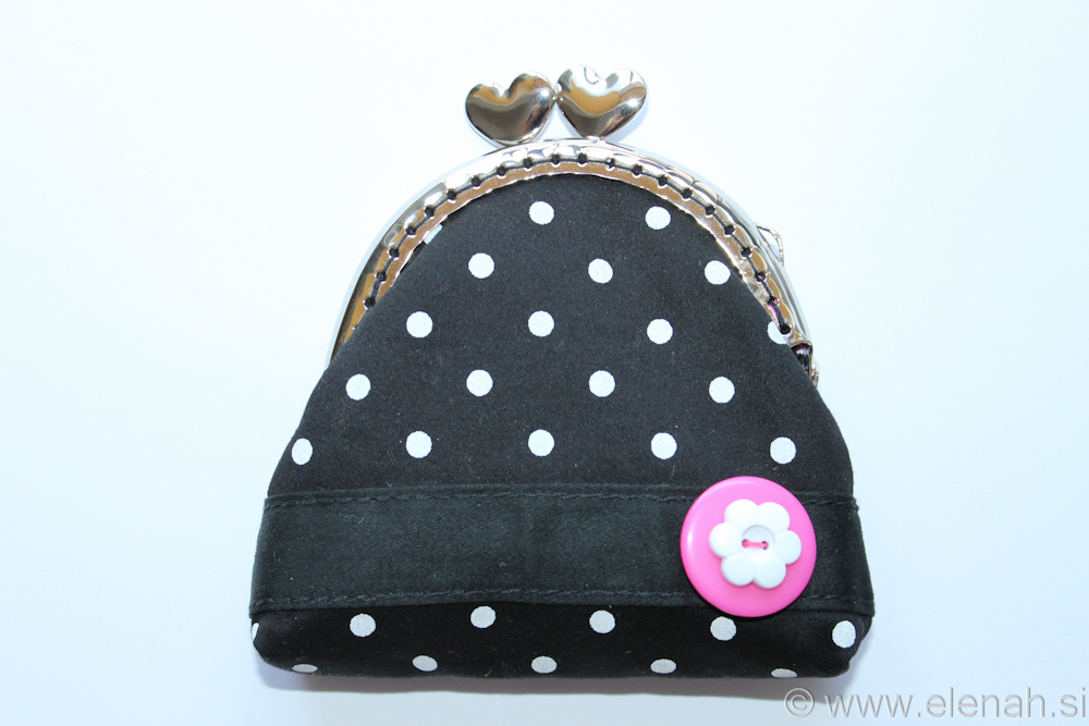 Day 144 - first frame coin purse dot 1