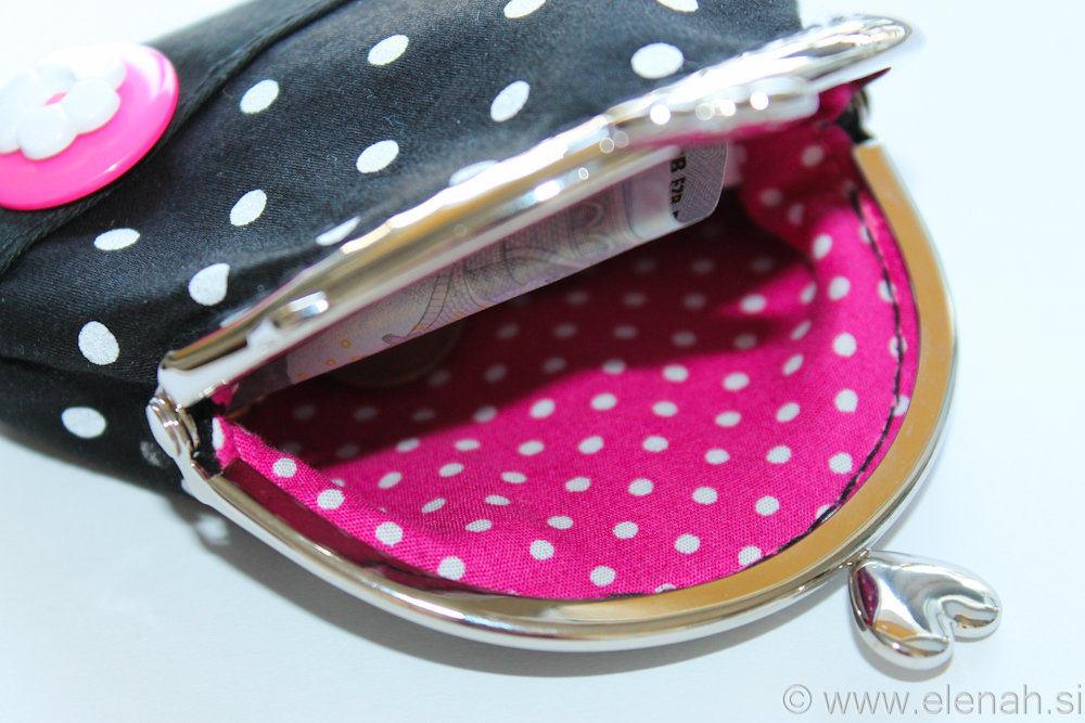 Day 144 - first frame coin purse dot 3