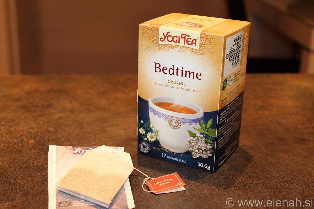 Day 16 Bedtime tea 1