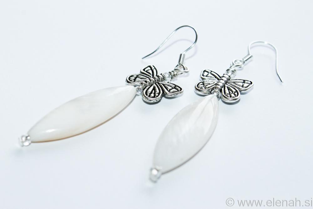 Day 333 butterfly shell earrings 2