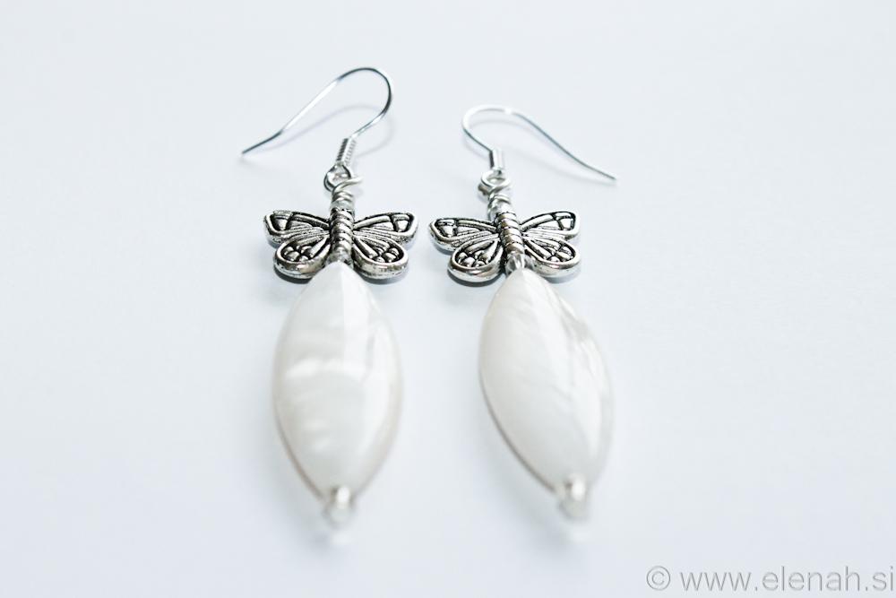 Day 333 butterfly shell earrings 3