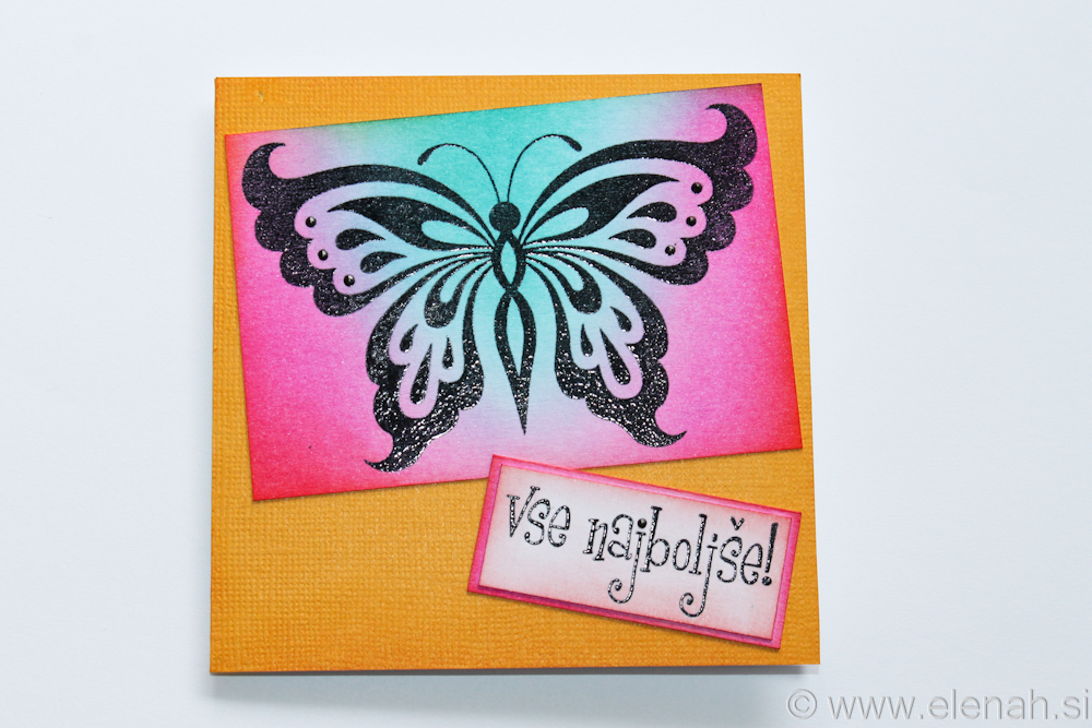 Day 349 butterfly greeting card 1