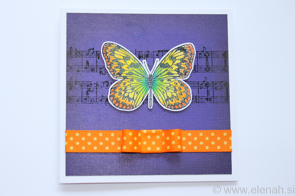 Day 352 butterfly greeting card 1