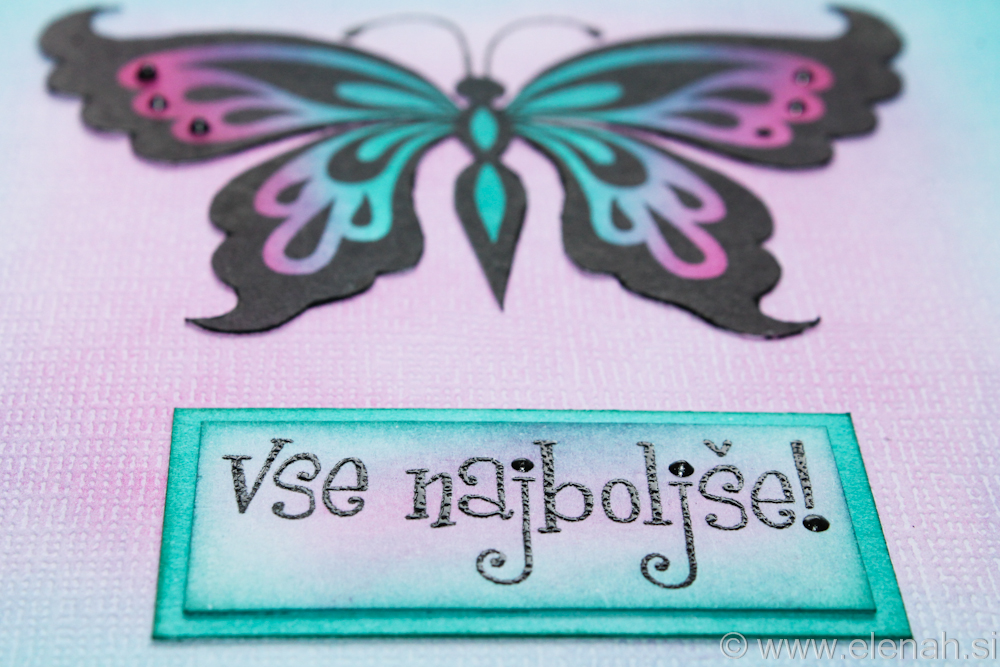 Day 354 butterfly greeting card 2