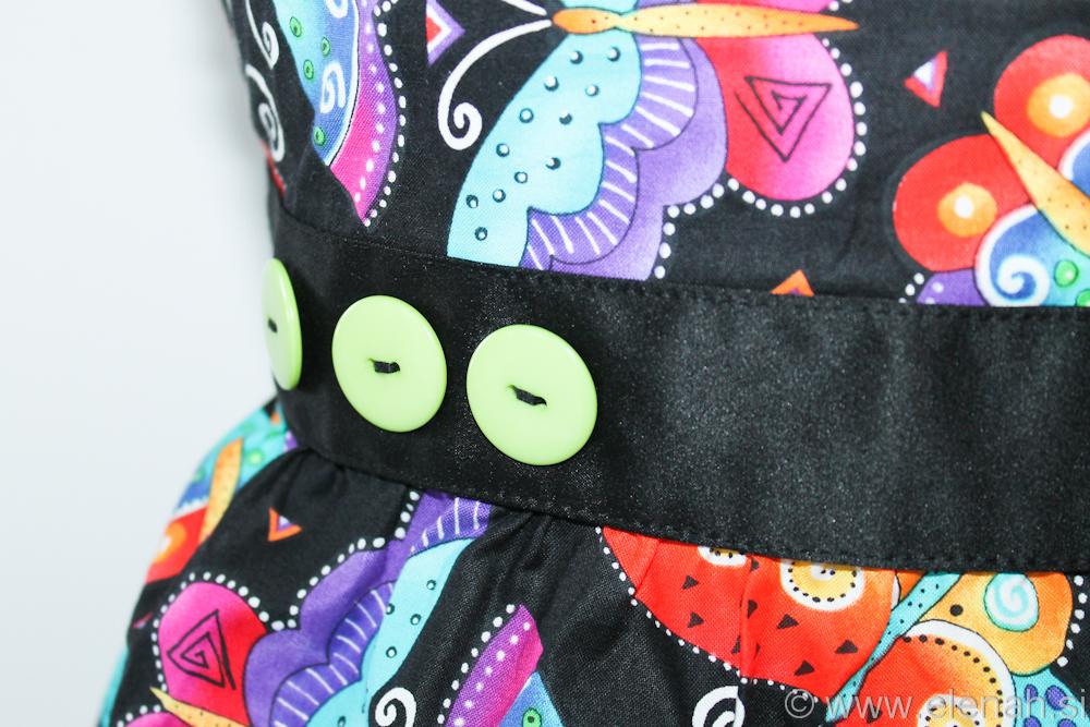 Predpasnik metulji  Butterfly apron 1b