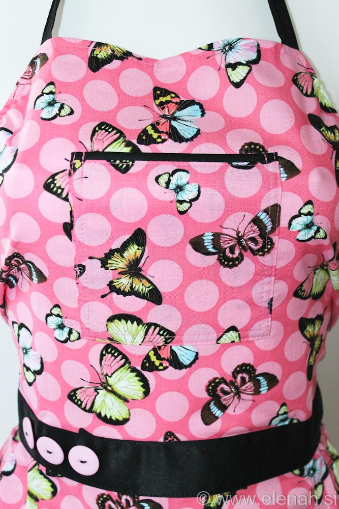 Predpasnik metulji  Butterfly apron 3b
