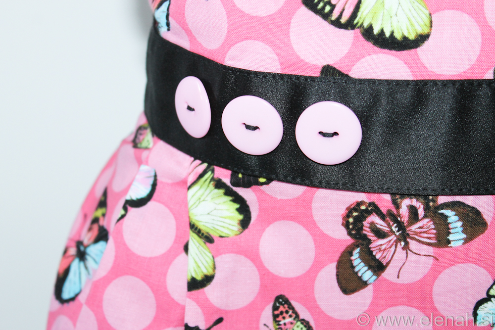 Predpasnik metulji  Butterfly apron 3c