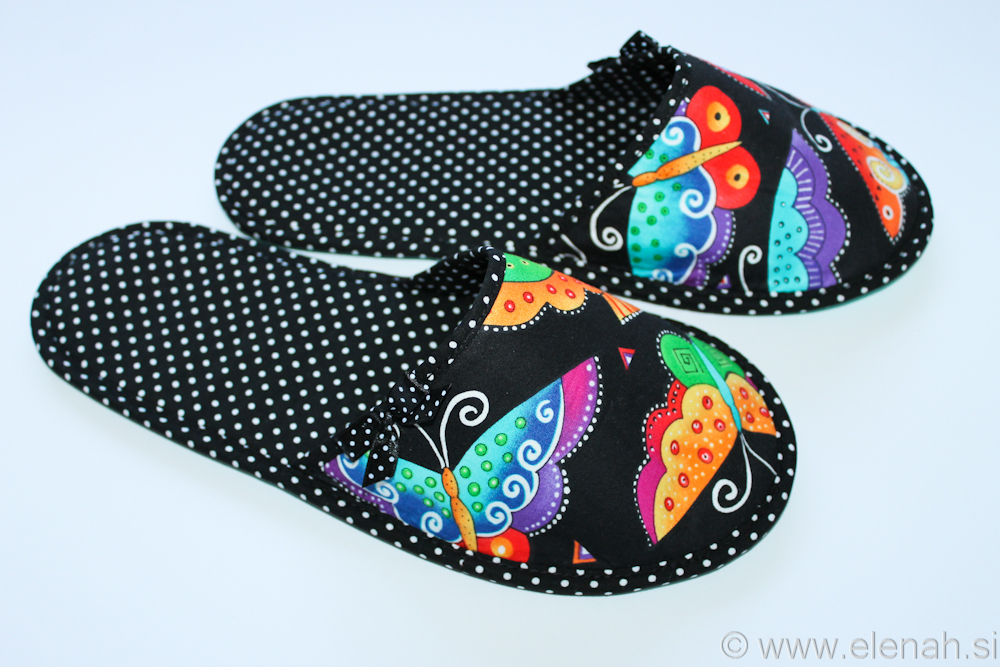 Copatki pike metulji Slippers dots butterflies  2b