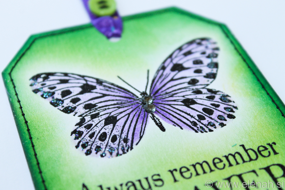 Day 111 butterfly bookmark with stiches 4