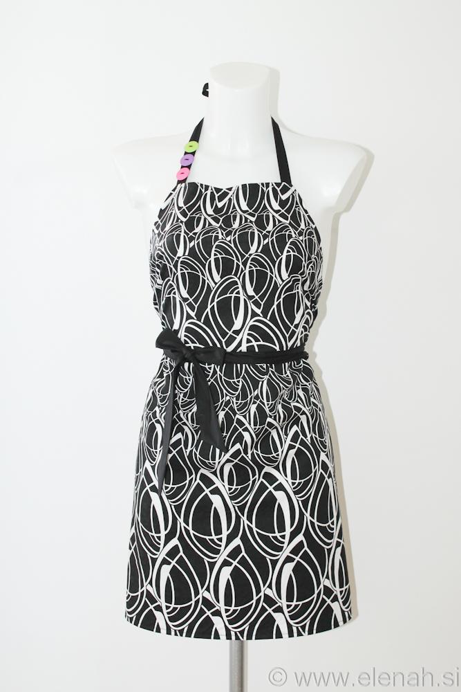 Day 125 - black white apron 1