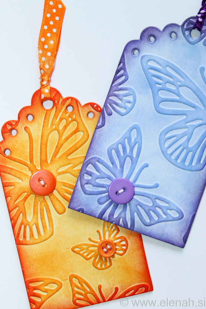 Day 136 orange purple bookmark 4
