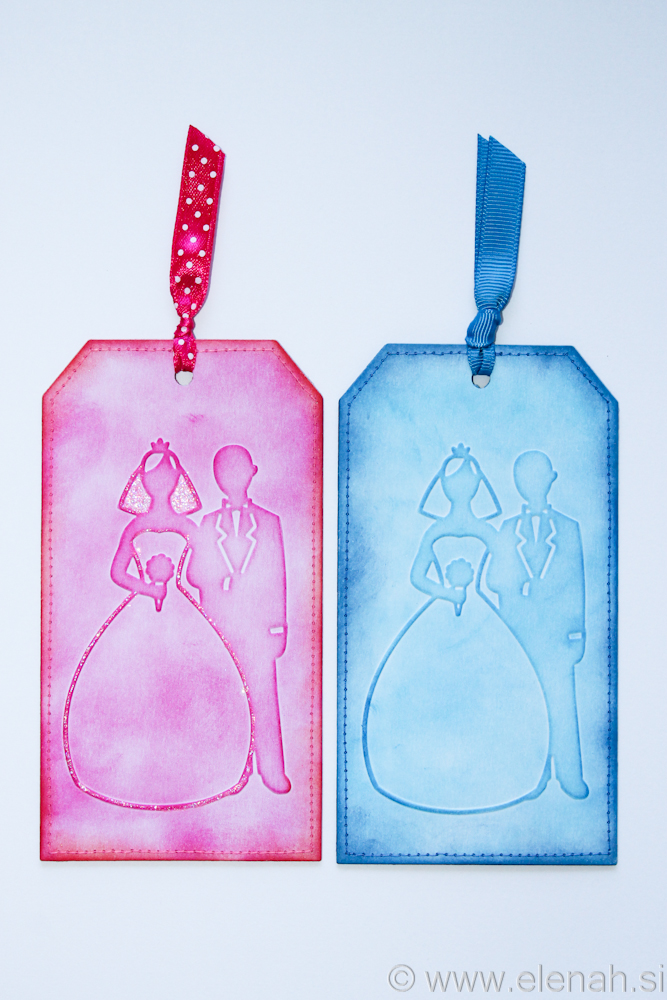 Day 137 bride and groom wedding bookmark 1