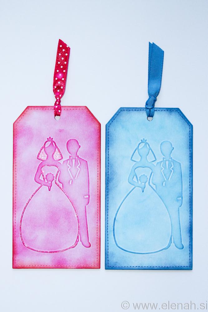 Day 137 bride and groom wedding bookmark 1
