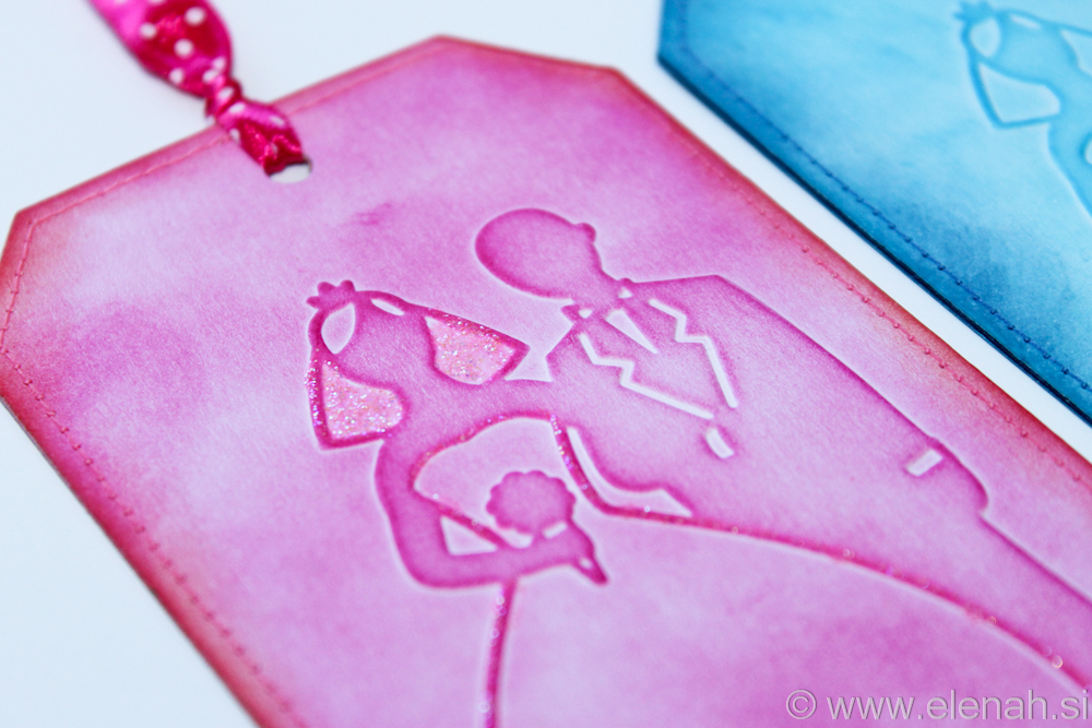 Day 137 bride and groom wedding bookmark 2