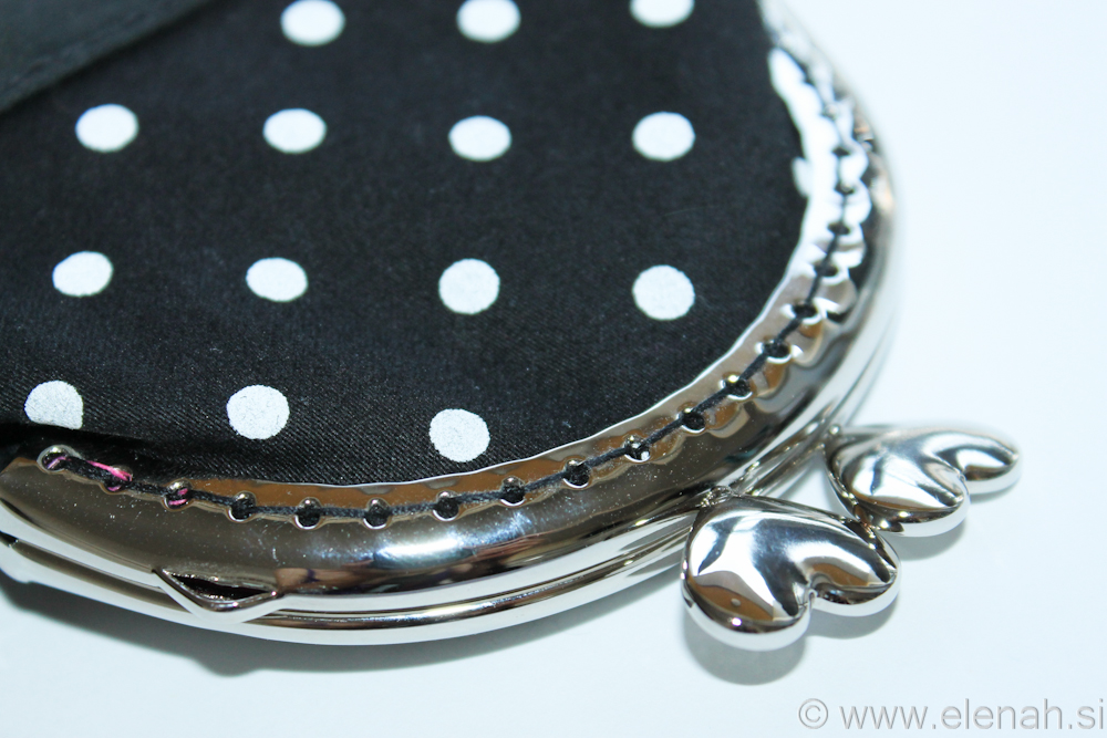 Day 144 - first frame coin purse dot 2