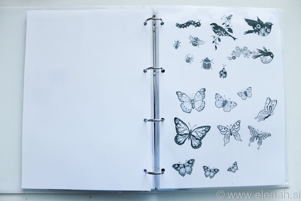Day 301 butterfly stamps 1