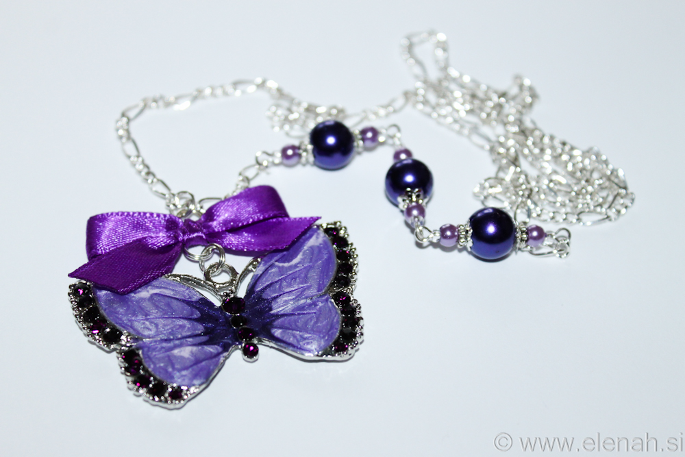 Day 310 purple butterfly necklace 4 (2)