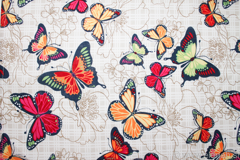 Day 318 butterfly fabric 1