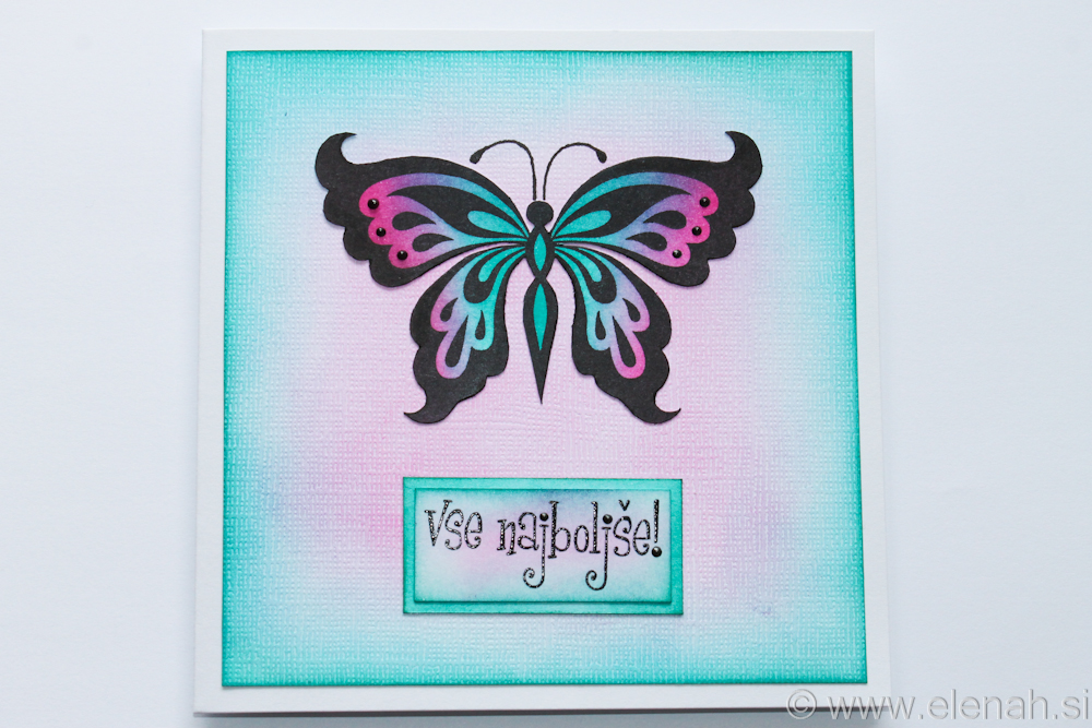 Day 354 butterfly greeting card 1