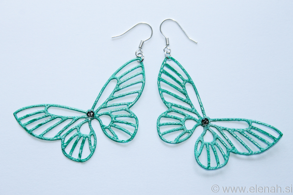 Day 363 butterfly earrings  1