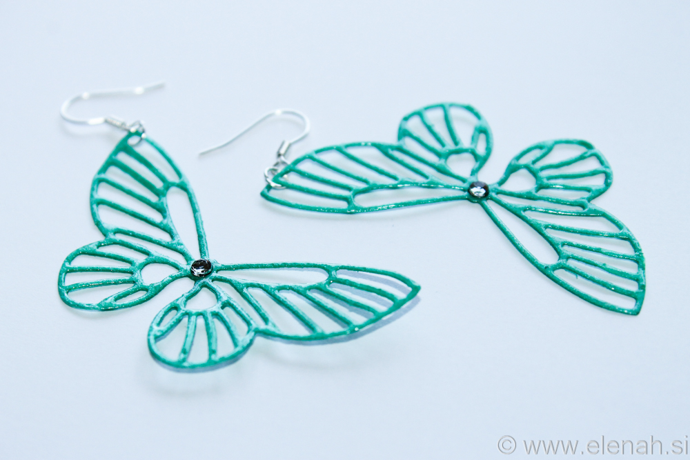 Day 363 butterfly earrings  2