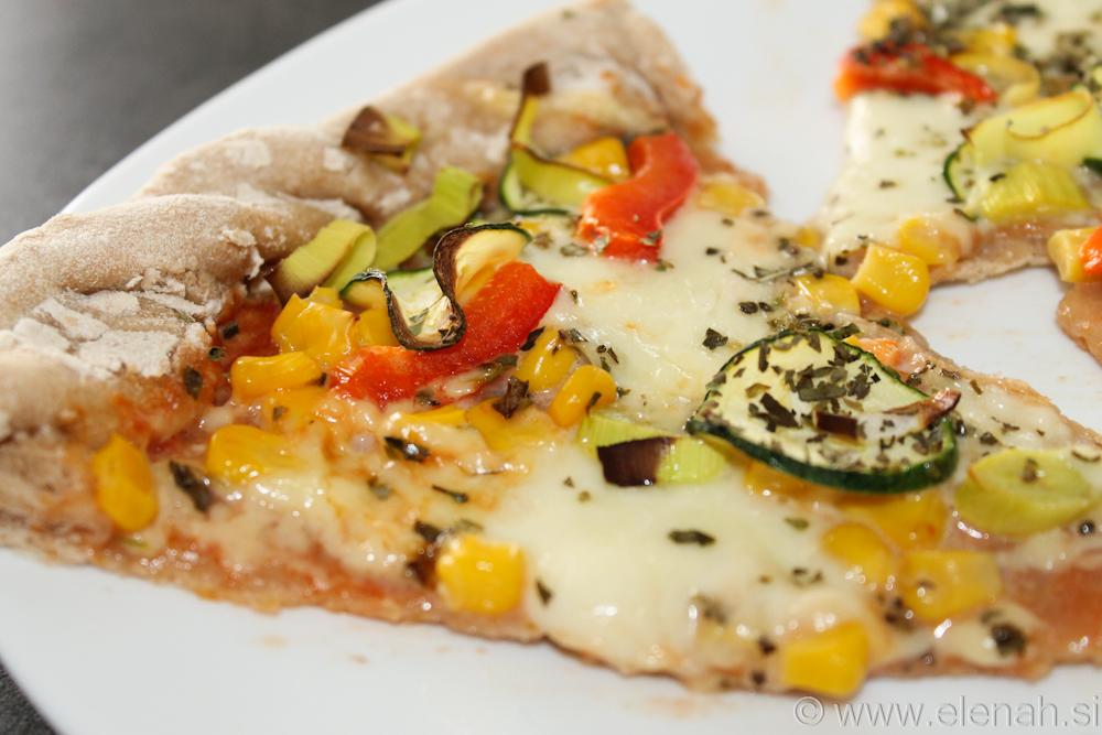 Day 73 vegetarijanska  pizza 2