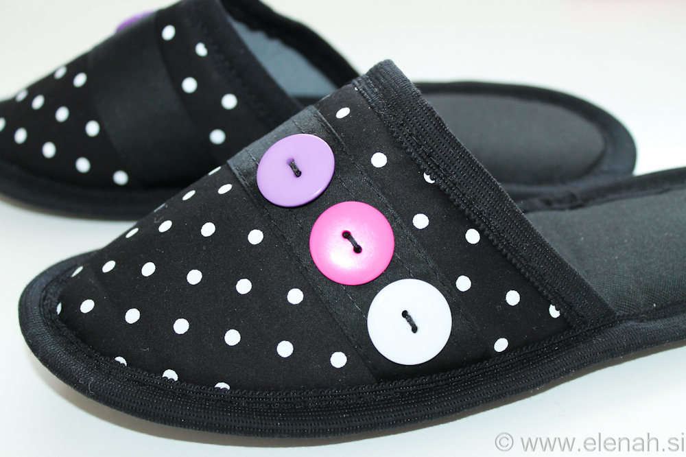 Day 90 dot slippers 2a