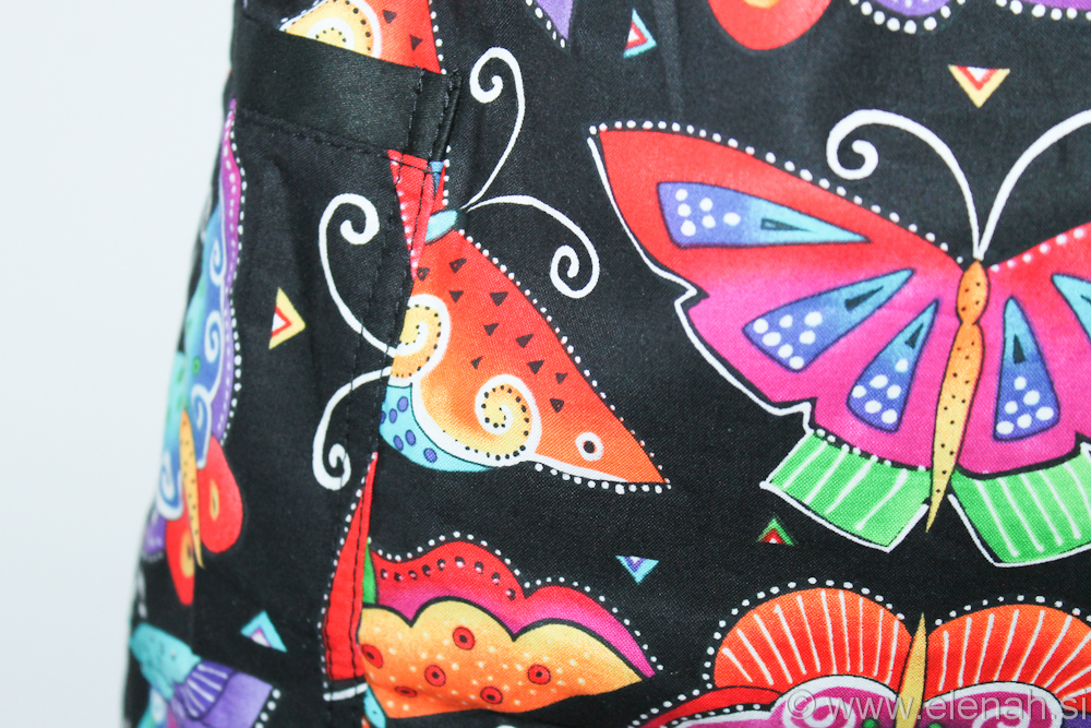 Predpasnik metulji  Butterfly apron 1c