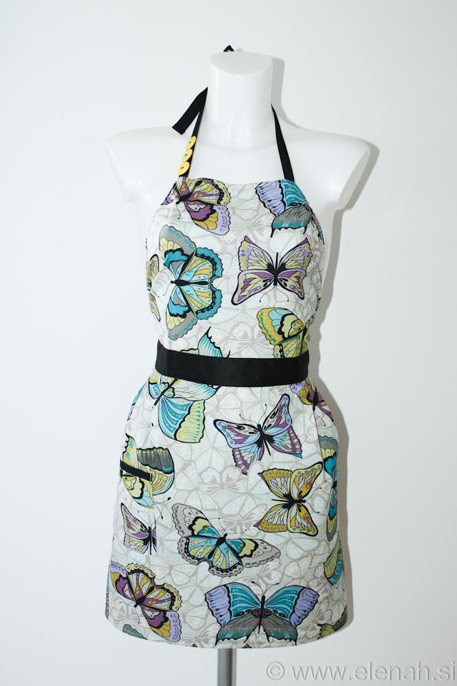 Predpasnik metulji  Butterfly apron 2a