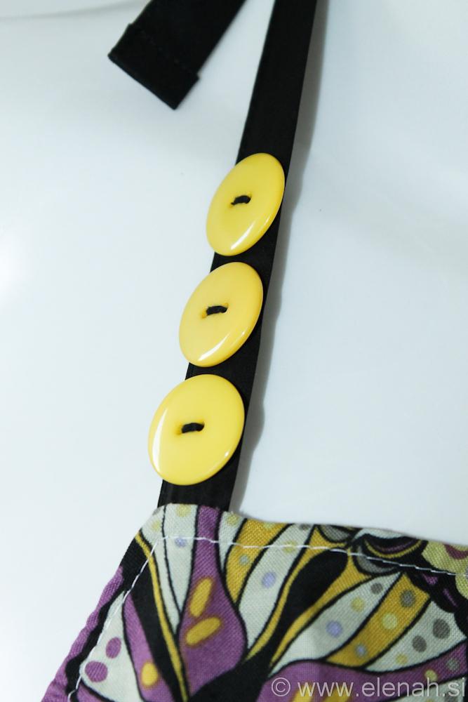 Predpasnik metulji  Butterfly apron 2b